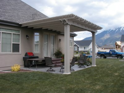 Attached Pergola - 15 Beautiful Pergola Designs To Make Your Own