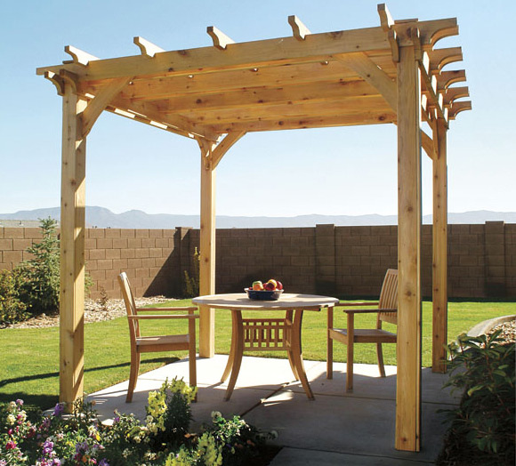 15 beautiful pergola designs to make your own for Pergola designs