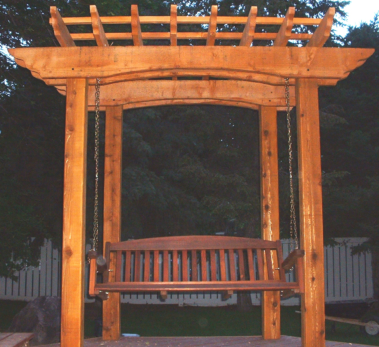 Impressive Pergola with Swing Plans 1311 x 1200 · 765 kB · jpeg