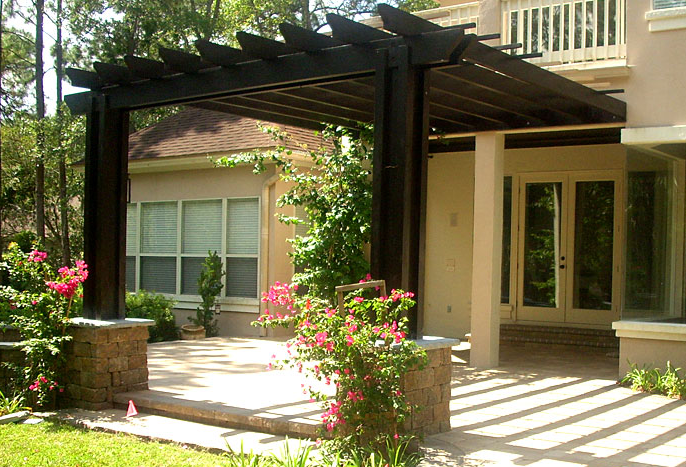 pergola design ideas attached pergolas