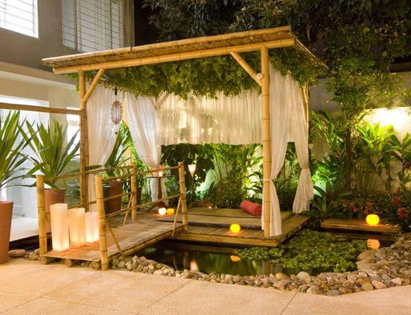 Photo By Losmoderninhos.blogspot.com. Bamboo Pergola