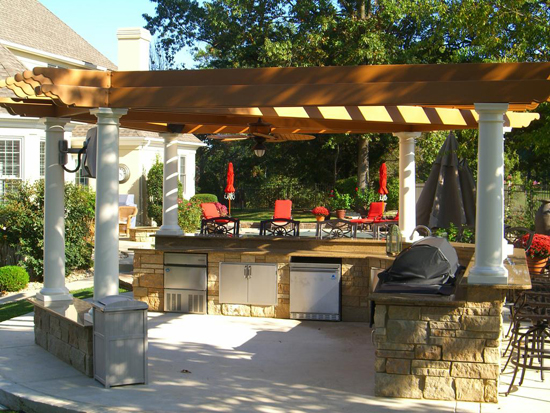 Kitchen Pergola Picture