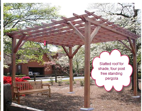 Photo by Darin Chamberlin - How To Differentiate Trellises, Arbors, Gazebos And Pergolas