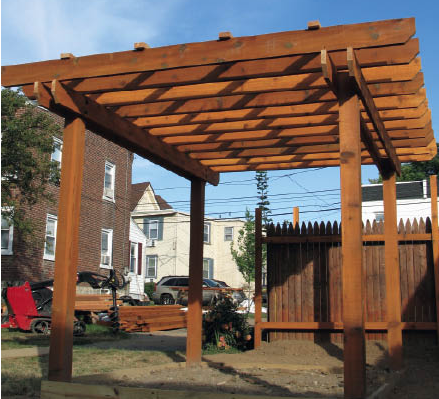 pergola construction tips