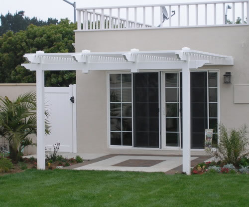 Attached Pergola Picture