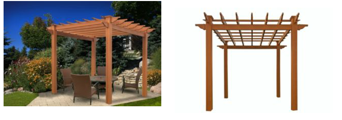 Inexpensive Pergola Kit – Under $1,100 with a surprise!